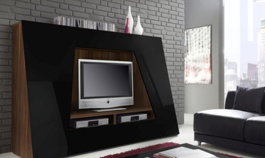 Great Unique Unusual TV Stands For Unique Storage Fit To Unusual Tv Stands With Stand Lamp On Wooden (Image 29 of 50)