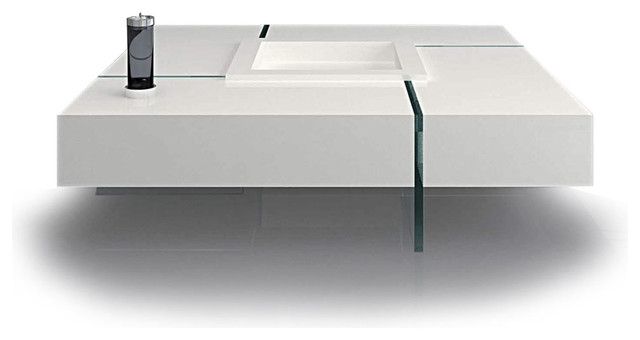 Great Unique White Square Coffee Table Pertaining To Modern White Coffee Table (Image 21 of 50)