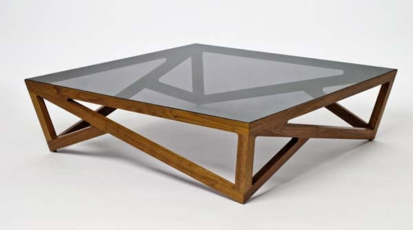 Great Unique Wooden And Glass Coffee Tables Regarding Wood Glass Coffee Table (View 2 of 50)