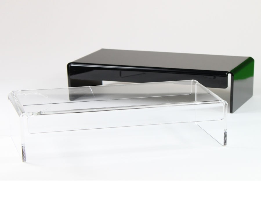 Great Variety Of Acrylic TV Stands Regarding Plastic Online Acrylic Online Uk Shop Acrylic Retail Stands (View 33 of 50)