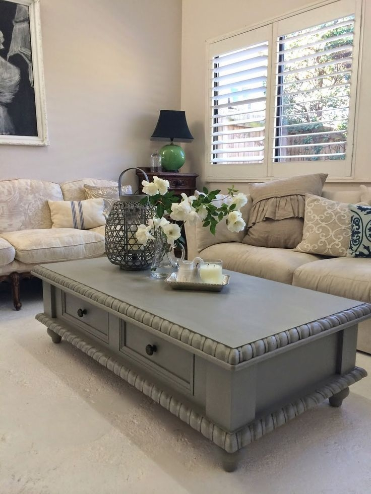 Great Variety Of Beige Coffee Tables Inside Best 10 Painted Coffee Tables Ideas On Pinterest Farm Style (Image 21 of 40)