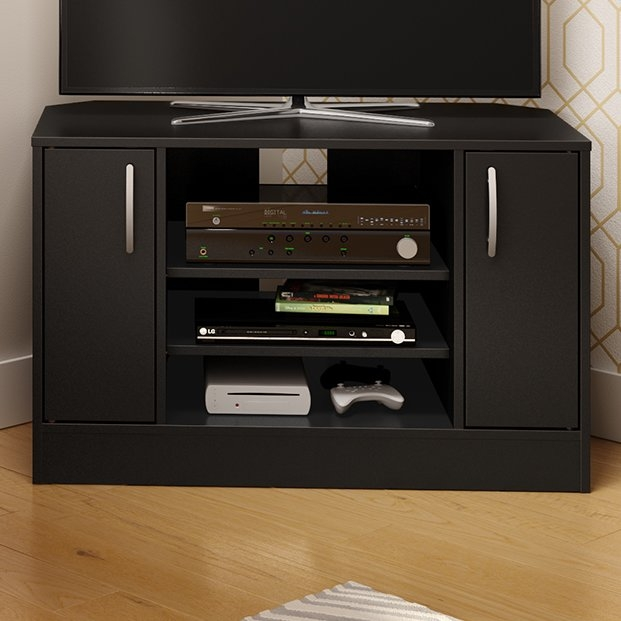 Great Variety Of Corner TV Stands For 55 Inch TV For Shop 149 Corner Tv Stands (View 13 of 50)