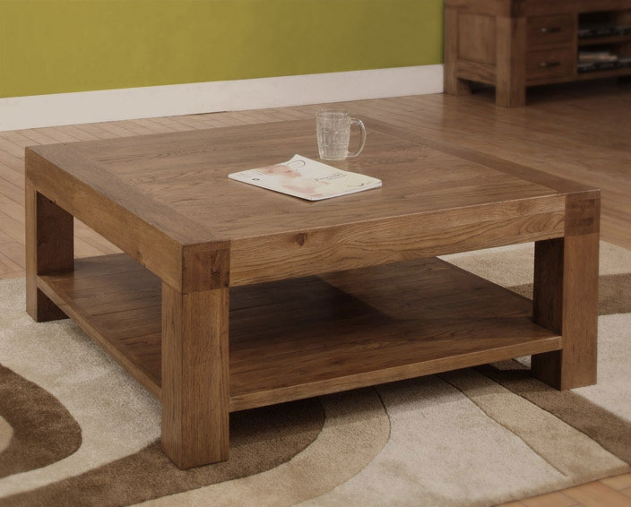 Great Variety Of Large Low Square Coffee Tables Intended For Coffee Table Pics Top Tuto (View 37 of 50)
