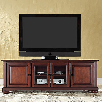 Great Variety Of Mahogany TV Stands  Regarding Tv Stand Entertainment Center Low Profile Media Storage Console (Image 29 of 50)