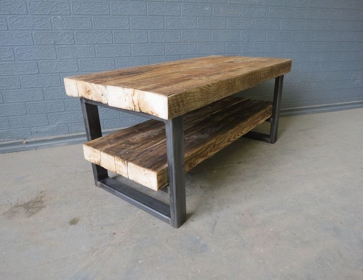 Great Variety Of Metal And Wood TV Stands Inside Industrial Metal And Wood Tv Stand Home Design Ideas (Image 19 of 50)
