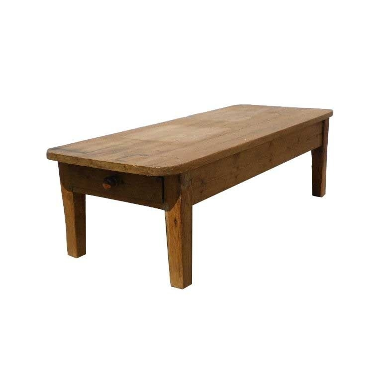 Great Variety Of Old Pine Coffee Tables With Regard To Old Pine Coffee Table For Sale At 1stdibs (Image 22 of 50)