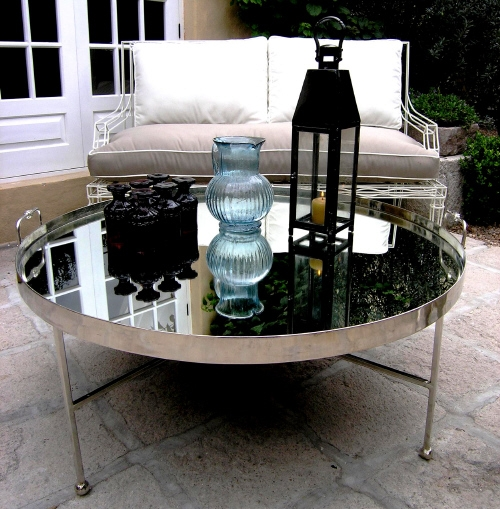 Great Variety Of Round Mirrored Coffee Tables Throughout Round Mirrored Coffee Table Lift Top Coffee Table On Round Coffee (Image 18 of 40)