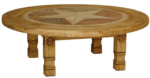 Great Variety Of Round Pine Coffee Tables With Regard To Antique Pine Coffee Table Versaille Oak Coffee Table Round (Image 19 of 50)
