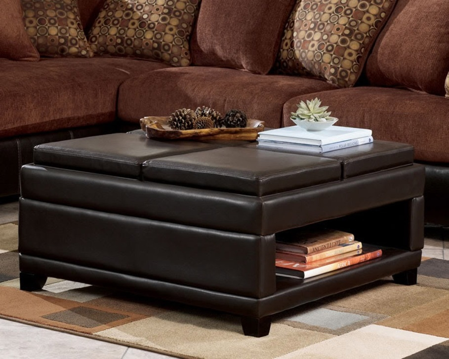 Great Variety Of Square Storage Coffee Table In Attractive Square Storage Ottoman Square Storage Ottoman Coffee (Image 27 of 50)