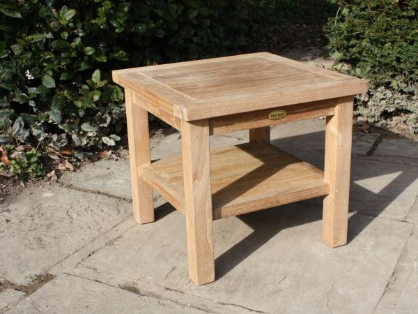 Great Variety Of Wooden Garden Coffee Tables With Regard To Coffee Tables Chic Teak (View 3 of 50)
