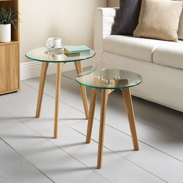 Great Wellknown Aiden Coffee Tables Within Aiden Table Set 2pc Furniture Living Room Bm (View 10 of 50)
