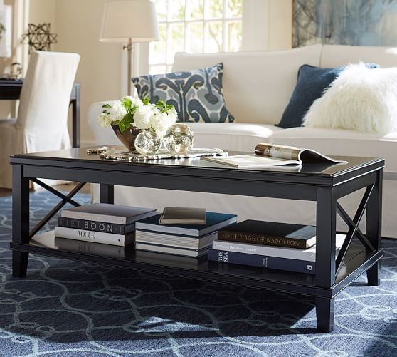 Great Well Known Antique Glass Pottery Barn Coffee Tables Throughout Cassie Coffee Table Pottery Barn (View 22 of 50)