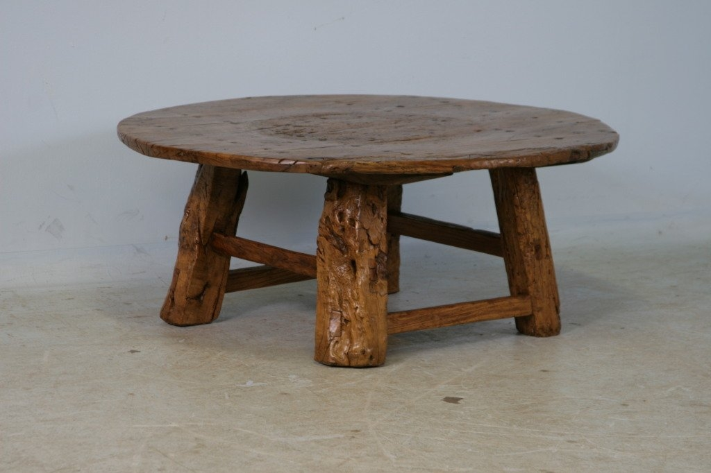 Great Wellknown Chinese Coffee Tables For Round Rustic Antique Chinese Coffee Table At 1stdibs (Image 28 of 50)