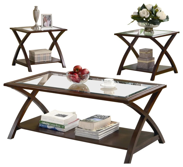 Great Wellknown Coffee Tables And Side Table Sets Intended For Coffee Table Coaster 3 Piece Occasional Table Sets Coffee And (Image 28 of 50)