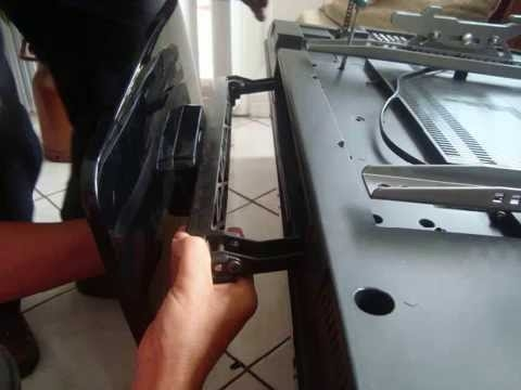 Great Wellknown Como TV Stands In Sos How To Remove A Flat Screen Tv Base Youtube (Image 22 of 50)