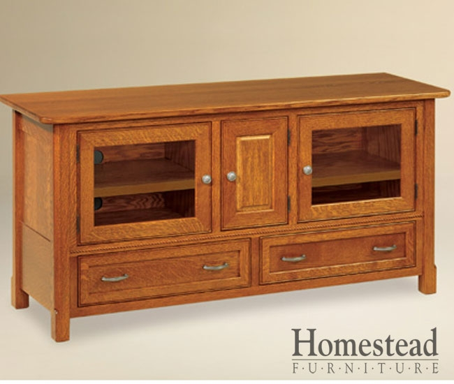 Great Well Known Country TV Stands Throughout Custom Built Hardwood Furniture Homestead Furniture Made In Usa (Image 28 of 50)