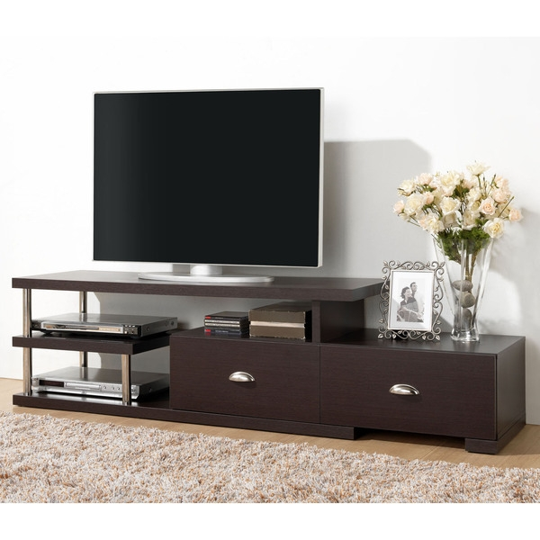Great Well Known Espresso TV Cabinets With Tv Stands Classic Design Solid Wood Tv Stand Espresso Ideas (Image 25 of 50)