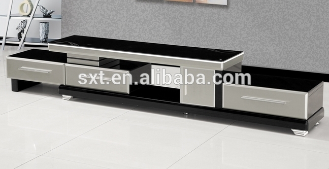 Great Well Known Modern Wood TV Stands Within Hot Selling Modern Extensible Design Wood Tv Stand Buy Wood Tv (View 8 of 50)