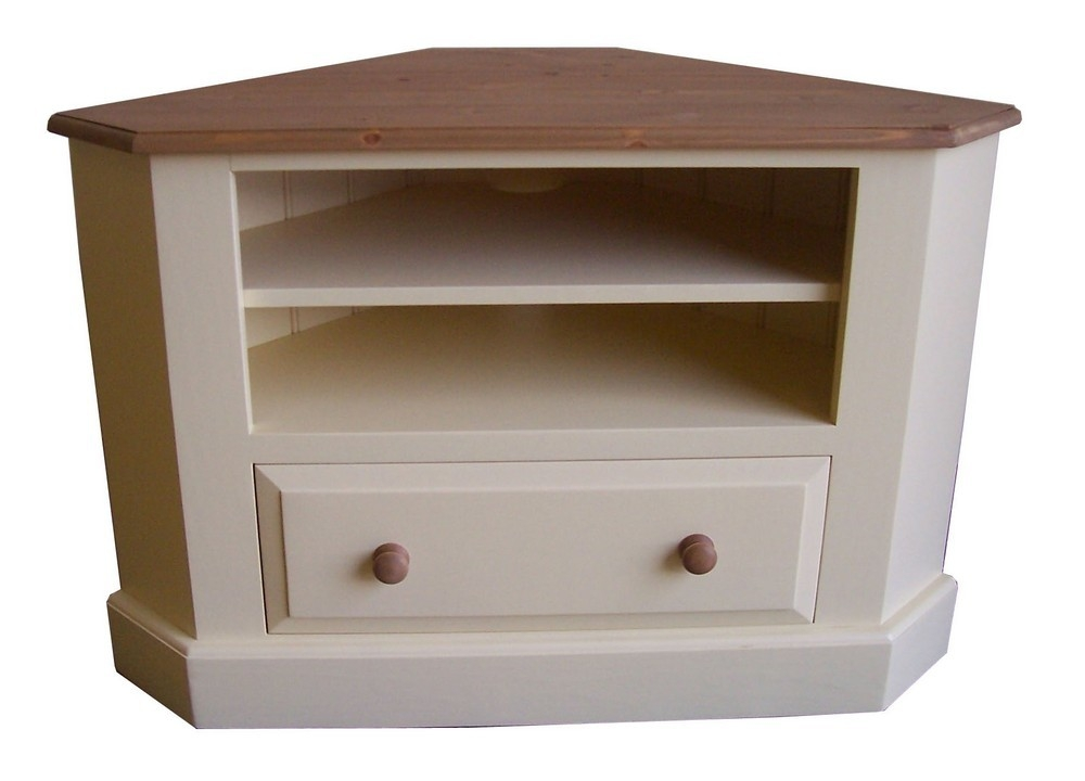 Great Wellknown Painted Corner TV Cabinets With Corner Tv Unit With Drawer Painted (View 6 of 50)