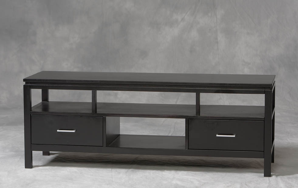 Great Well Known Plasma TV Stands With Regard To Linon Sutton Plasma Tv Stand 84026blk 01 Kd U (Image 24 of 50)