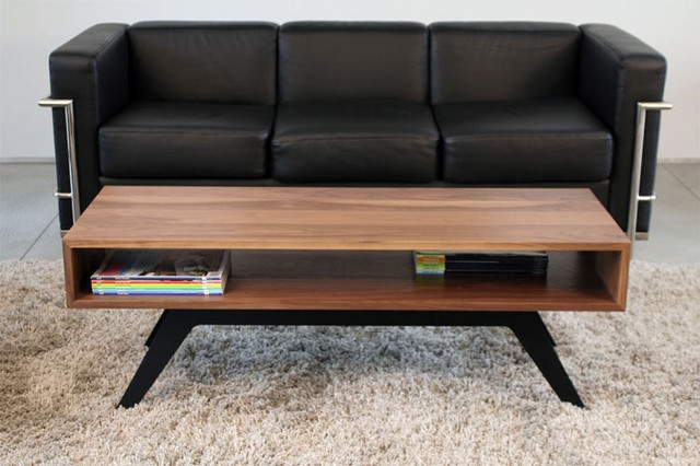 Great Well Known Quality Coffee Tables Throughout Coffee Table Modern Wood Coffee Table Reclaimed Metal Mid (Image 18 of 50)