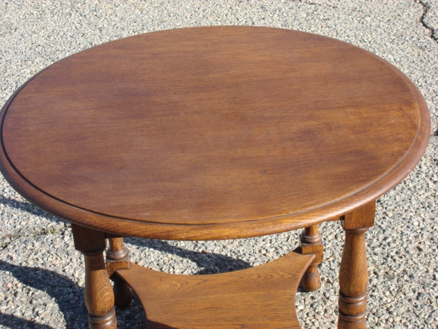 Great Wellknown Round Oak Coffee Tables Pertaining To Antique Round Oak Coffee Table Starrkingschool (Image 21 of 40)