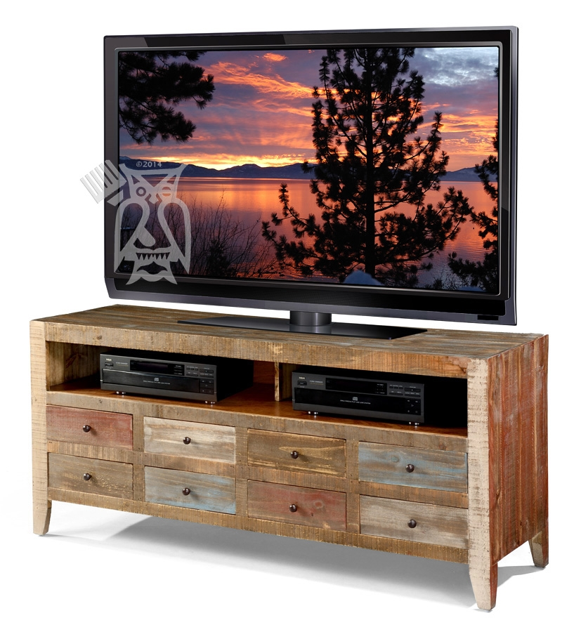 Great Well Known Solid Pine TV Stands Regarding Hoot Judkins Furnituresan Franciscosan Josebay Areaartisan (View 22 of 50)