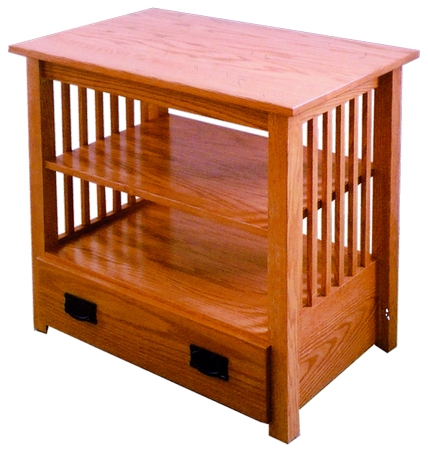 Great Wellknown TV Stands In Oak In 33 Off Mission Tv Stand W Drawer In Oak Solid Wood Amish Furniture (Image 21 of 50)
