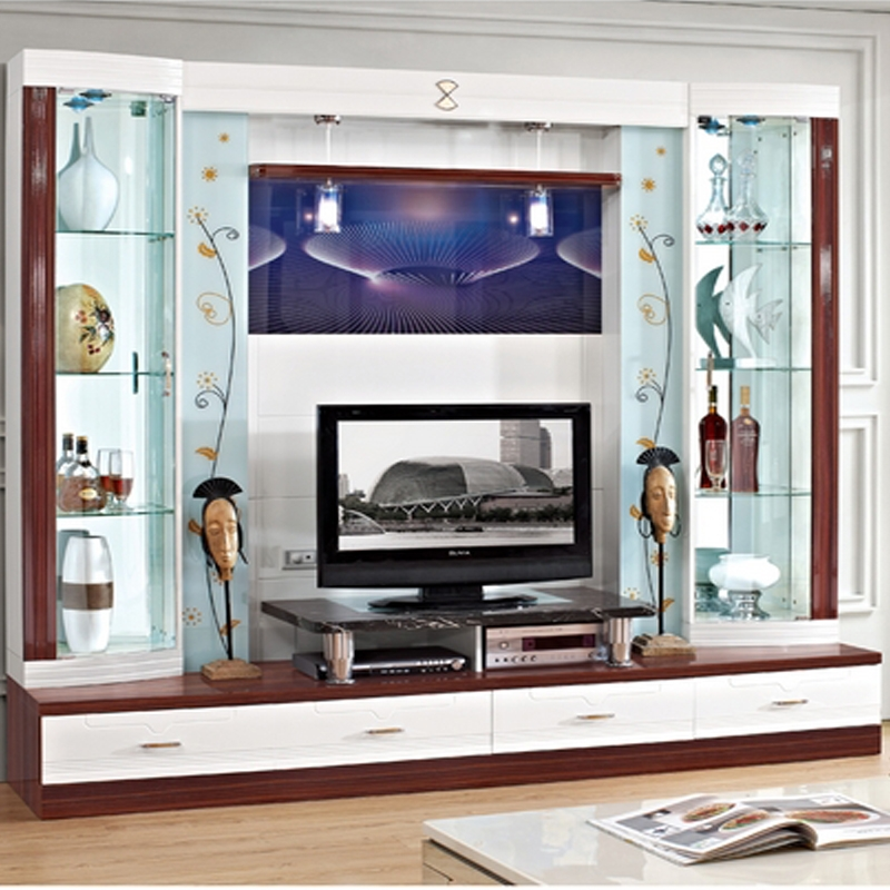 Great Wellknown Wall Display Units & TV Cabinets For Cabinet Shelf Picture More Detailed Picture About Small Tv (View 21 of 50)