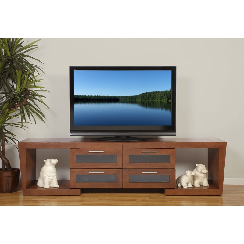 Great Well Known Walnut TV Stands For Flat Screens With Plateau Valencia Series Expandable Wood Tv Stand For 51 87 Inch (Image 26 of 50)