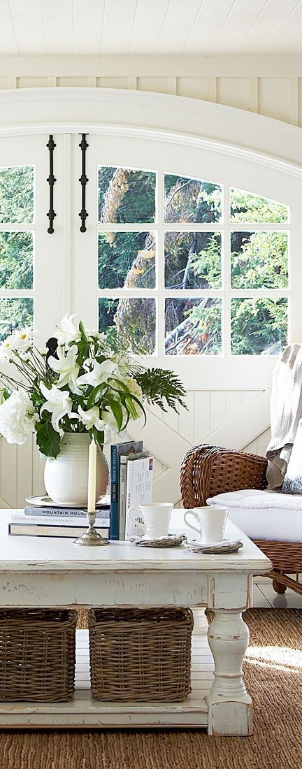 Great Well Known White Cottage Style Coffee Tables Inside Top 25 Best Farmhouse Coffee Tables Ideas On Pinterest Farm (View 19 of 50)