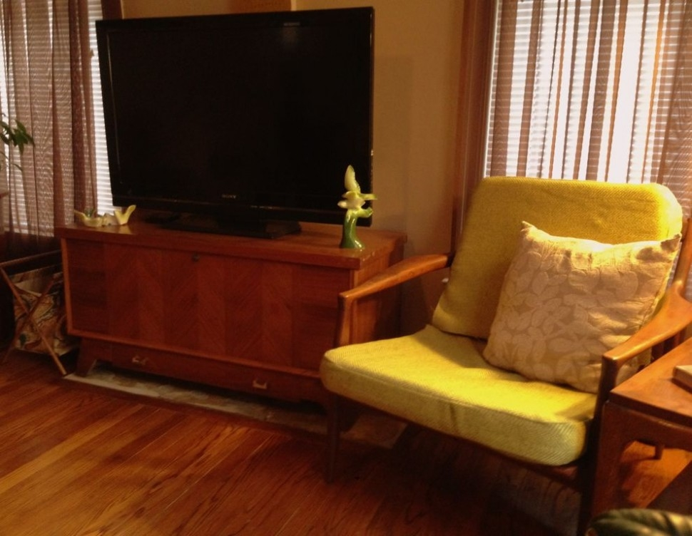 Great Wellknown Yellow TV Stands Inside Furniture Charming Yellow Reading Chair Beside Black Tv Stand On (View 45 of 50)