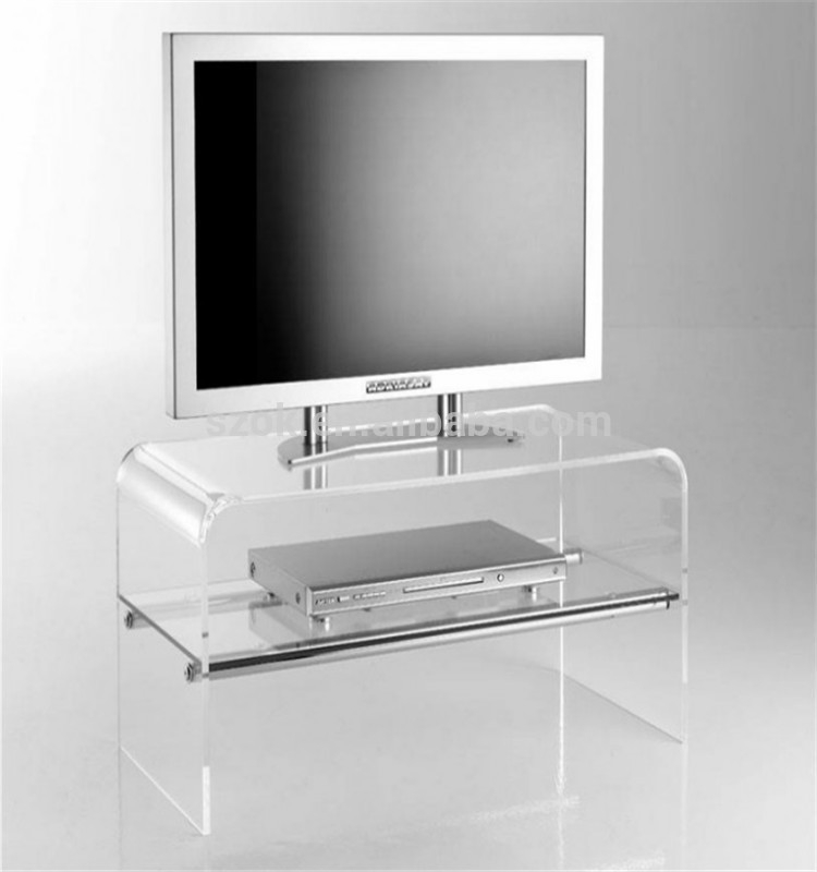 Great Wellliked Acrylic TV Stands Throughout Latest Design Acrylic Tv Stands Acrylic Tv Stand Table For Living (Image 29 of 50)