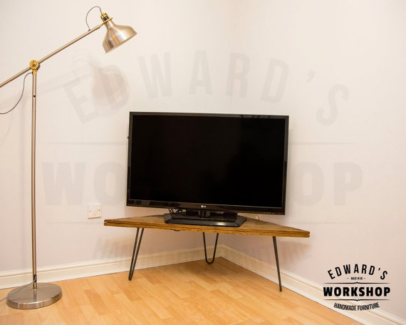 Great Wellliked Industrial Corner TV Stands With Industrial Tv Stand Corner Unit (Image 28 of 50)