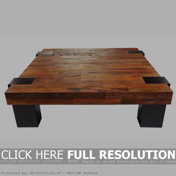 Great Wellliked Large Low Wood Coffee Tables Regarding Wood Living Room Table Best 20 Wood Coffee Tables Ideas On (View 6 of 50)