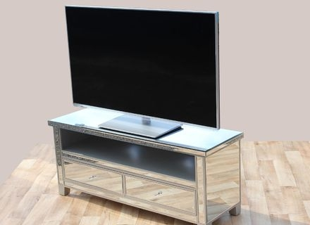 Great Wellliked Mirrored TV Stands In Gallery Images And Information Mirrored Tv Wall Cabinet Mirrored (View 17 of 50)