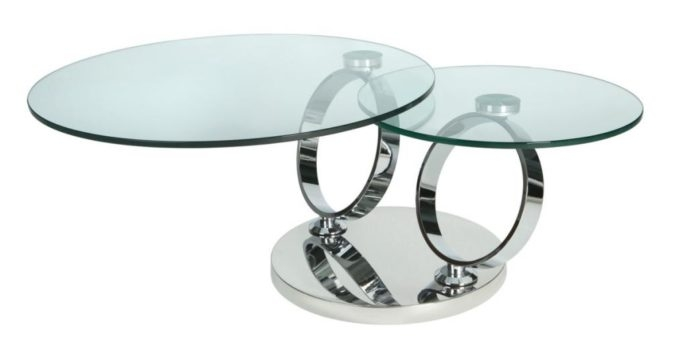 Great Wellliked Revolving Glass Coffee Tables Inside Coffee Table Lastest Ideas Rotating Glass Coffee Table Oak (Image 22 of 40)