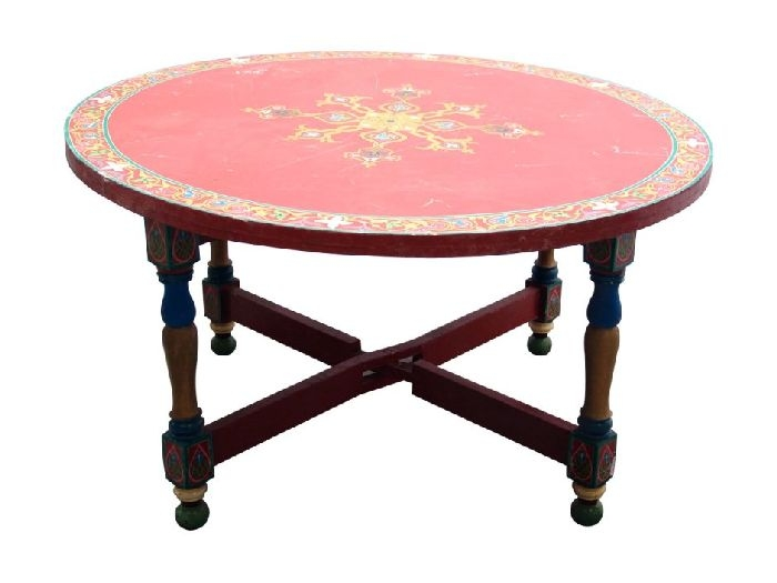 Great Wellliked Round Red Coffee Tables Pertaining To 30 Red Coffee Tables For Good Mood Coffee Table Review (View 7 of 50)
