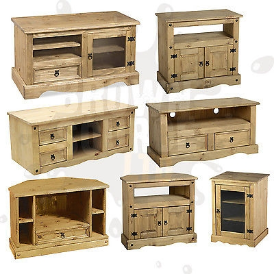 Great Wellliked Solid Pine TV Cabinets With Regard To Mexican Pine Tv Cabinet Bar Cabinet (Photo 31 of 50)