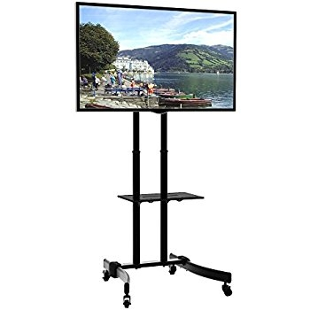 Great Wellliked TV Stands For 70 Flat Screen Inside Amazon Mobile Tv Stand For 37 To 70 Inch Flat Screen Monitor (Image 18 of 50)