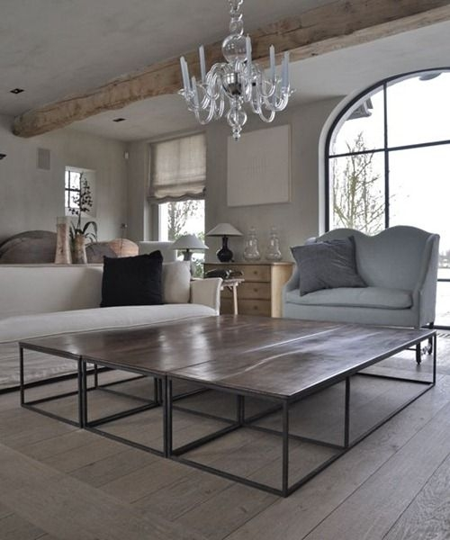Great Wellliked Very Large Coffee Tables Within Best 20 Large Coffee Tables Ideas On Pinterest Large Square (View 38 of 50)