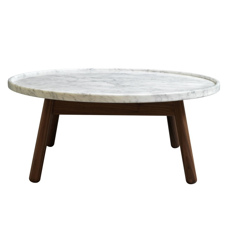 Great Wellliked White Marble Coffee Tables Inside Fabulous Faux Marble Coffee Table (View 15 of 50)