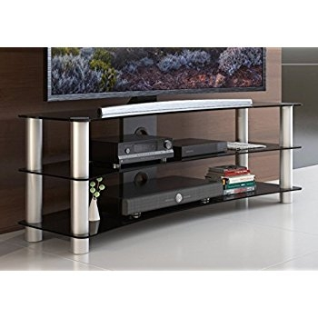 Great Widely Used Curve TV Stands Pertaining To Amazon Fitueyes Woodglass Curved Tv Stand Designed For Oled (View 50 of 50)