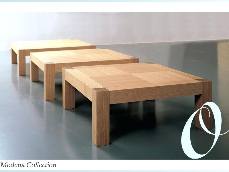 Great Widely Used Large Low Rustic Coffee Tables Intended For Coffee Table Large Low Rustic Coffee Table Level Low Square (Image 20 of 50)