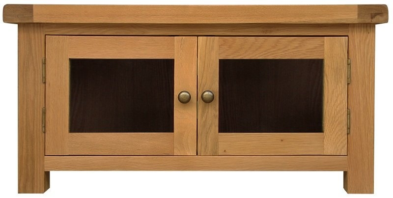 Great Widely Used Oak TV Cabinets With Doors Intended For Tv Cabinets With Glass Doors (Image 28 of 50)