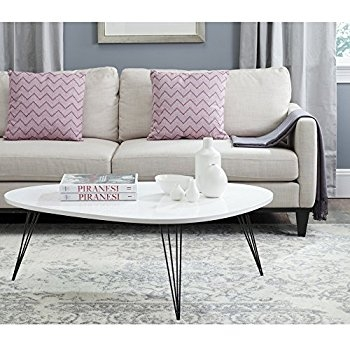 Great Widely Used Safavieh Coffee Tables Intended For Amazon Safavieh Home Collection Josiah Mid Century Modern (View 9 of 50)