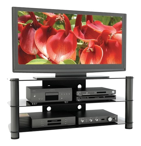 Great Widely Used Sonax TV Stands With Regard To Sonax Tv Stand For Tvs Up To 58 Black Ny 9504 Best Buy (View 7 of 50)
