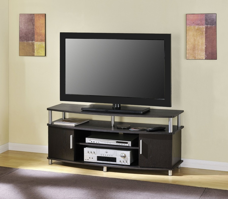 Great Widely Used TV Stands With Back Panel Pertaining To Wood Flat Screen Tv Stands Flat Screen Tv Stands For Living Room (Image 29 of 50)