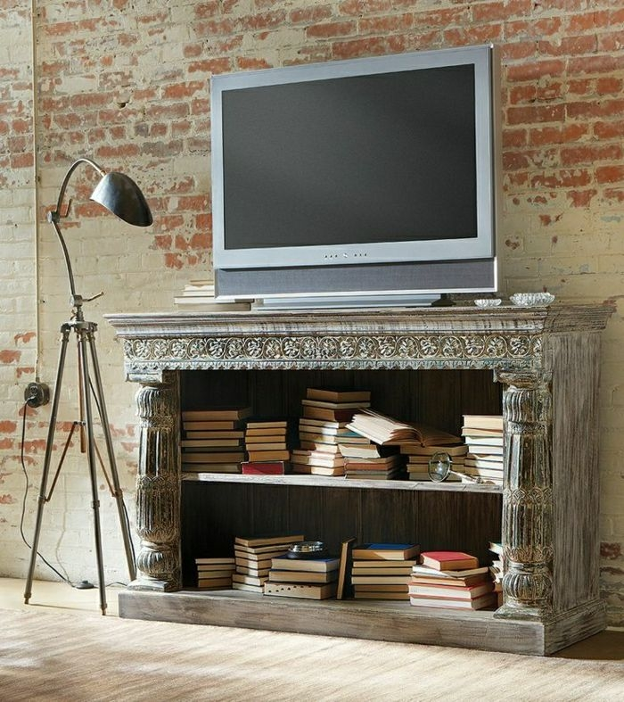 Great Widely Used Unique TV Stands In Unique Tv Stand Ideas Unique Simple Tv Stands Pics Ana White (Image 24 of 50)