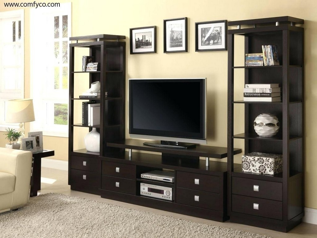 Great Widely Used Very Tall TV Stands Within Furniture Cheap Wooden Tv Units 32 Tv Stands For Flat Screens Tv (Image 22 of 50)